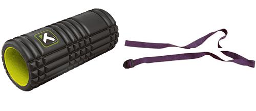 Foam Roller y Cuerda de Yoga